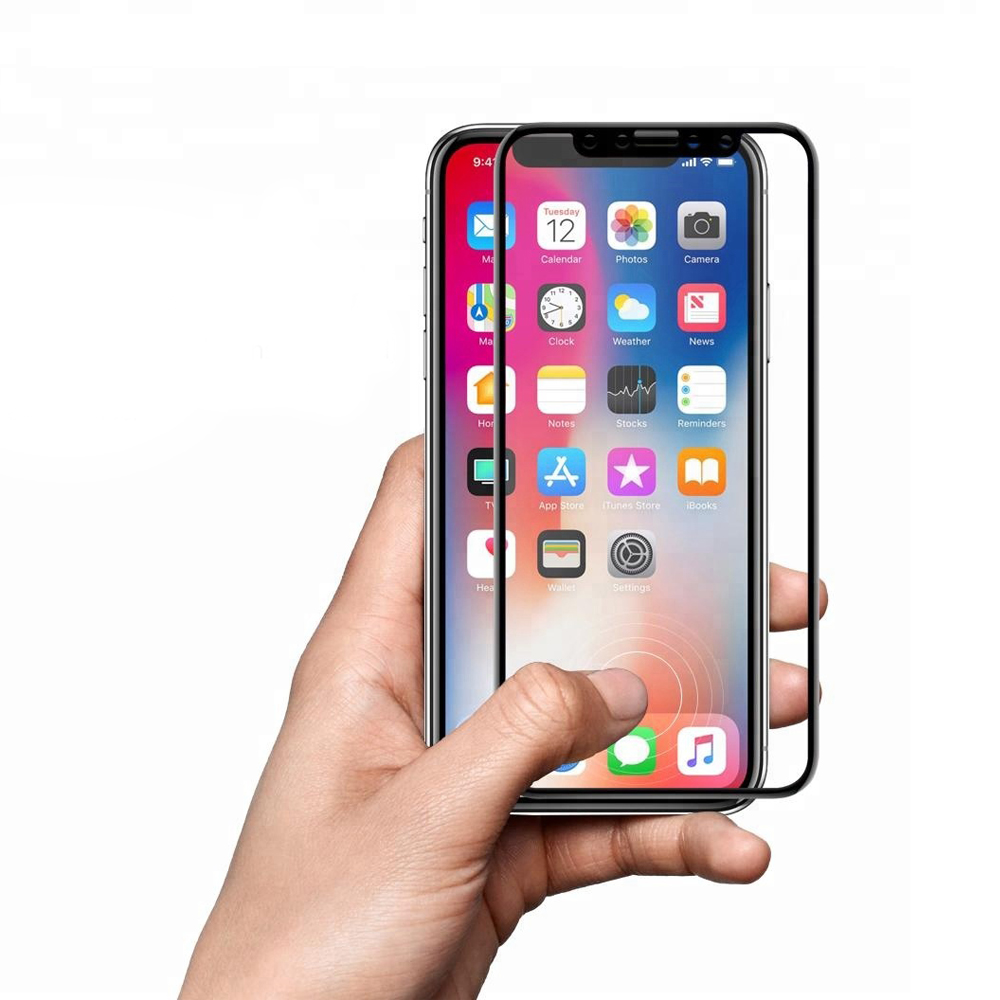 Wholesale Bulk 3D Curved Surface Full Cover Full Glue Tempered Glass Screen Protector For Iphone XS/XR/XSMax фото