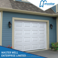 steel security garage door residential