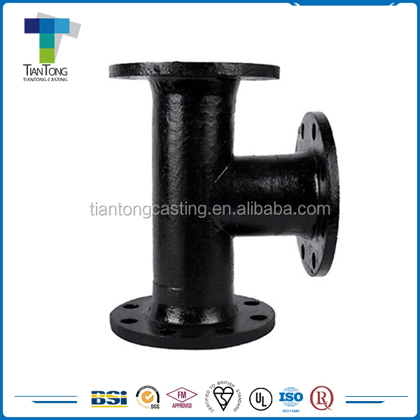 2016 wholesale K Type Joint Flanged ductile iron pipe fitting