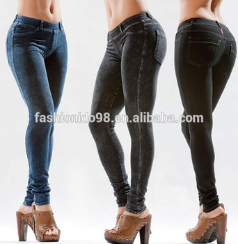 09041c7f1f033 Women Thick Warm Fleece Lined Fur Winter Sexy Tight Pencil Black Leggings  Pants accept