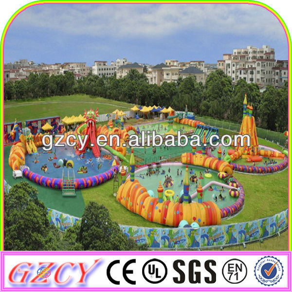 2014 Newly Inflatable Amusement Water Park