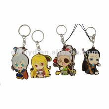 Beautiful and special soft PVC keychain as promotional item