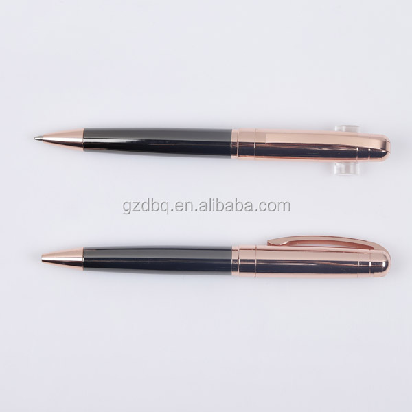 factory luxury rose gold ball pen metal pen good for promotion