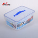Rectangle PP microwave safe seal box /vacuum seal lunch box