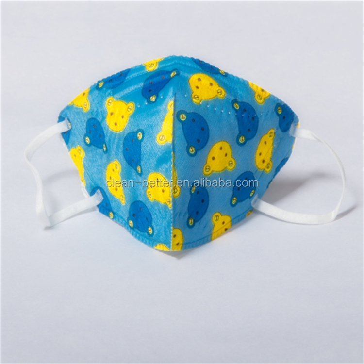 disposable solid PM2.5 anti dust pollution fashion custom printed ski mask 3d model