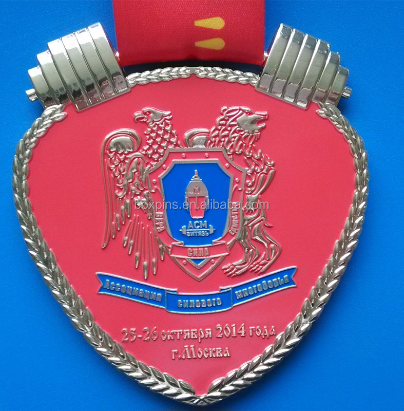 Cheap customized souvenirs award medals metal wholesale