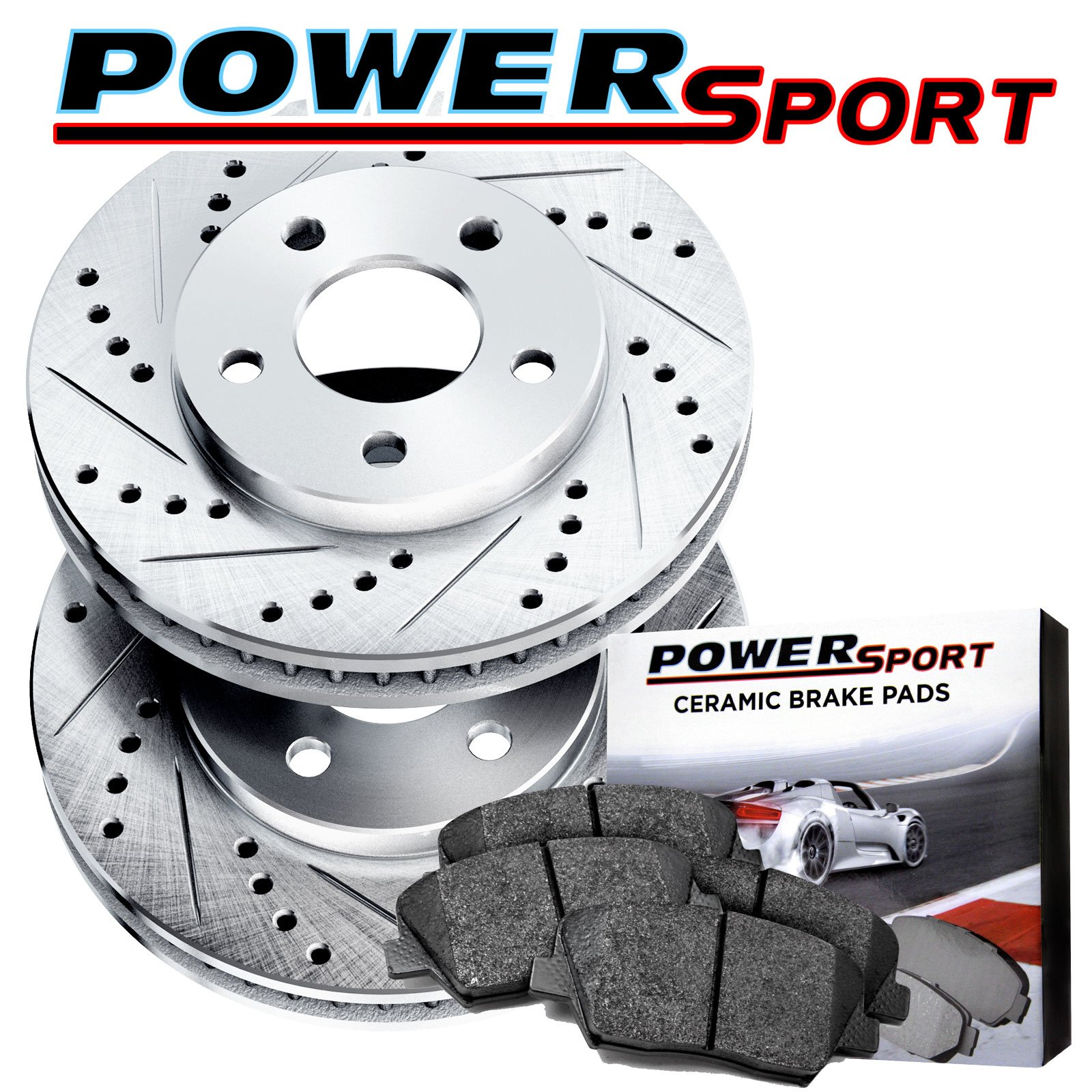 Front Ceramic Brake Pads For 1993 1994 1995 1996 Nissan 300ZX Performance 4pcs