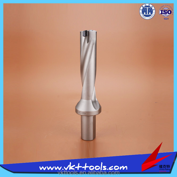 KSS-C32-D34-4D ---- CNC Indexable Insert U Drill with WCMX / SPMG Insert