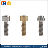 Bolt and nut fittings, Factory manufacturer CNC six angle generator parts