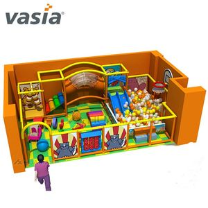 New design small children game house fun indoor playground design