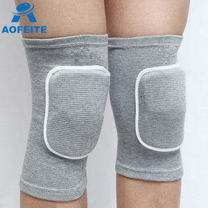 alibaba online shopping High elastic cotton knee sleeves for basketball