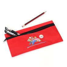 Polyester Pencil case for School student Lovely Plstic Pen Bags Customized Office Stationery Pouch