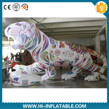 Customized inflatable tiger for adver promotion decoration