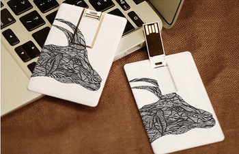 print logo credit card usb flash drives for customized buy