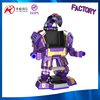 battery operated battle king walking robot amusement park rides for outdoor playground