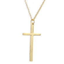 Trendy Fashion Engraved Christian Cross Choker Personalized Name Gold Rose Gold Necklace Minimalist Jewelry