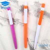 Office supplies Writing instruments color plastic pen no minimum order