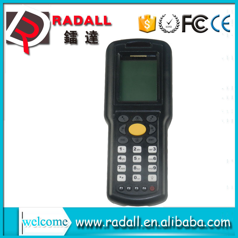 Trade Assurance RD 9800 32 bit long distance data collector code bar scanner upload data to excel with keyboard for POS
