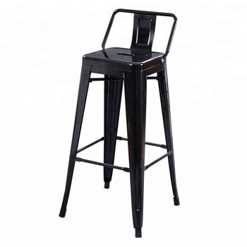 Surprising Vintage Black Stainless Steel Metal Industrial Pub Bar High Chair Barstool Stool For Heavy People Buy Industrial Bar Stool Bar Stool Ncnpc Chair Design For Home Ncnpcorg