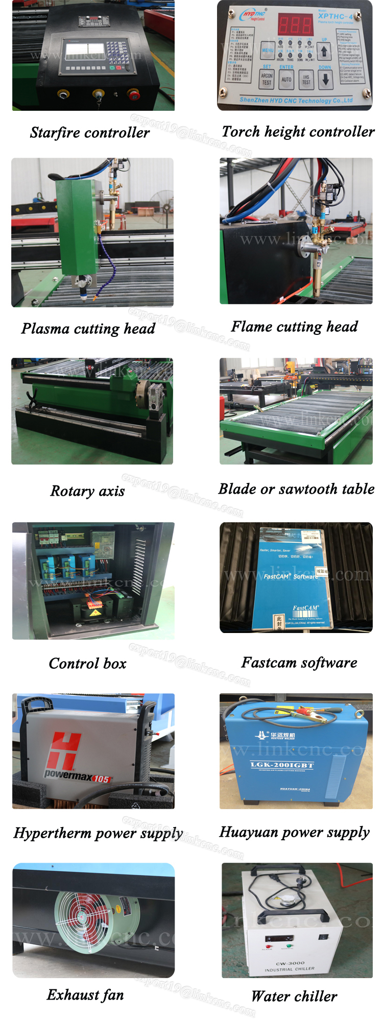 Computarizado Cortador De Plasma/plasma Cnc Corte 30 50 100mm Con ...