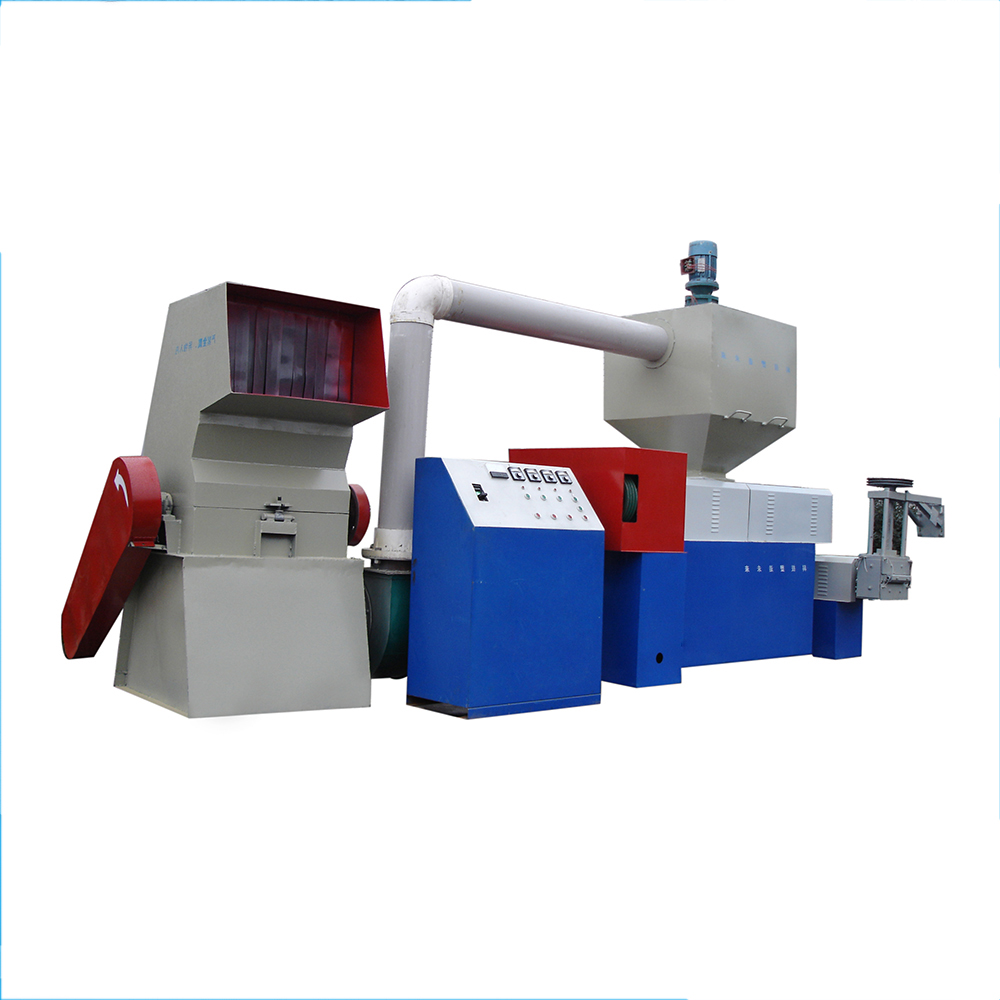 Double stage PP/<strong>PE</strong> plastic granulating machine,recycled granulated plastic machine good price