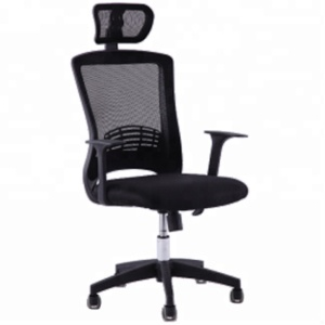 Quality Ergonomic Mesh Office Chair Popular Staff Office Chair High Back Mesh Chair with Headrest