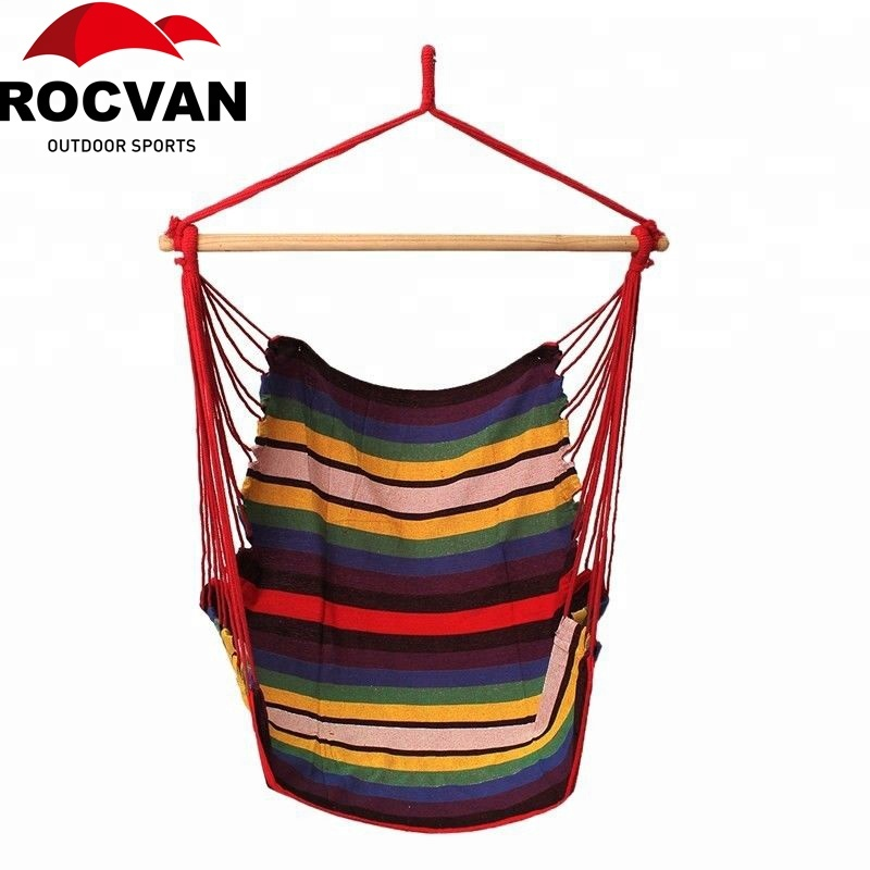 ROCVAN Tuin Patio Veranda Opknoping Canvas Swing Stoel Seat Hangmat Swingende