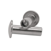 Stainless Steel Round Head Semi-tubular Rivets