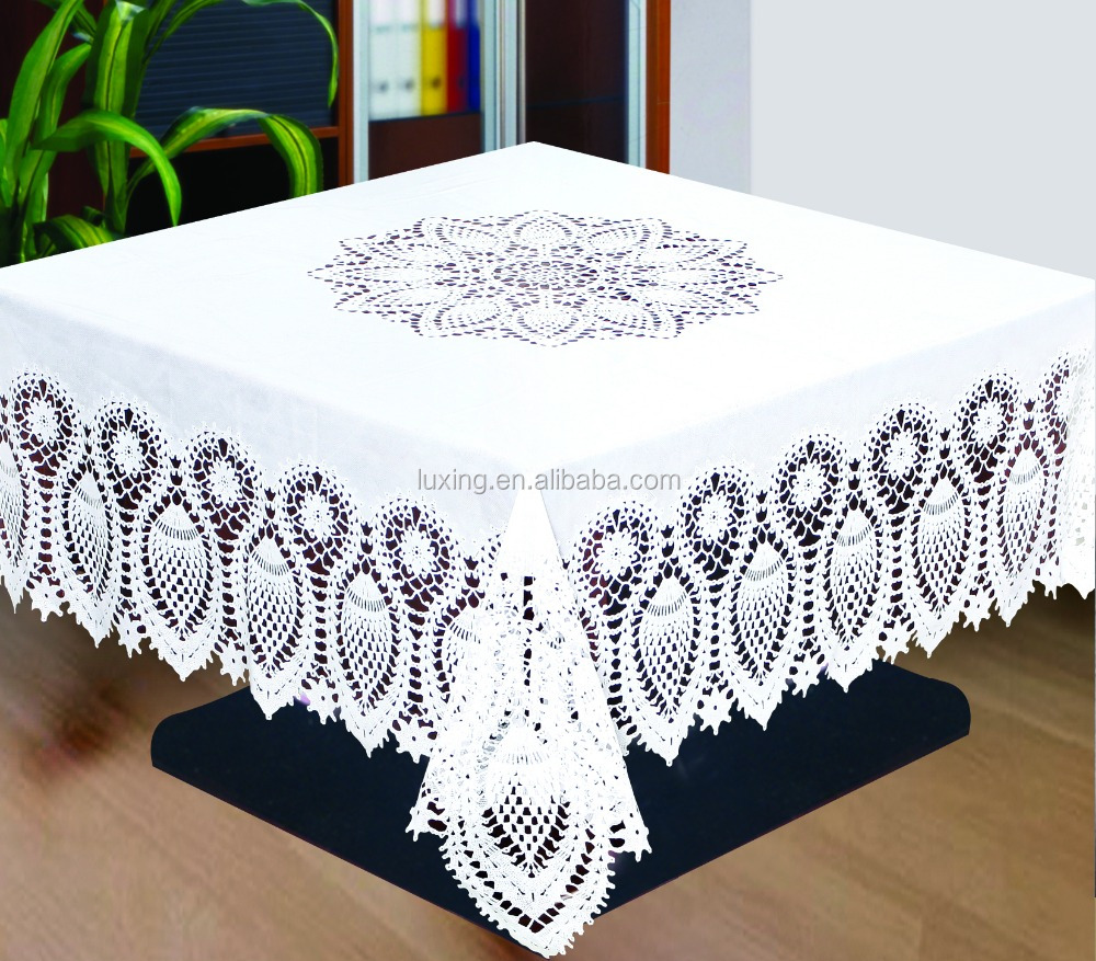 vinyl crochet tablecloth vinyl crochet tablecloth suppliers and