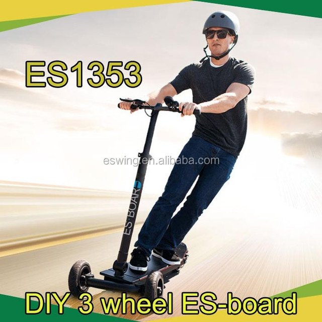 3 wheeler land surfing Outdoor Sport self balancing scooter electric scooter