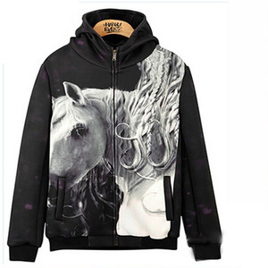 custom heat transfer sublimation printed neoprene hoodie