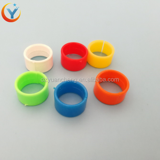 100 pcs Poultry Leg Bands Chicken Rings Pigeon Bird Rings