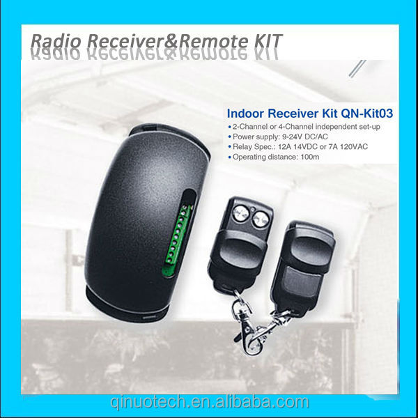 QN-KIT03 2 or 4 channel 433Mhz radio rf remote control receiver