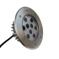 Popular Newest Design Energy Saving Round Led Decklight 9W Inground lights for Theme Park