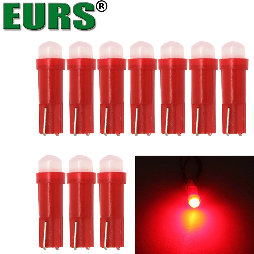Eurs T5 58 73 74 286 1 2w 3d Car Led Warning Indicator