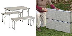 Buy Coleman Pack-Away Outdoor Folding Mosaic Table in Cheap Price on ...