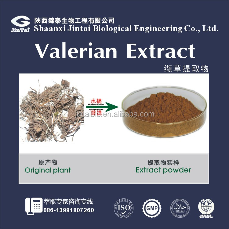 hight quality pure natural organic Valerian Root P.E.