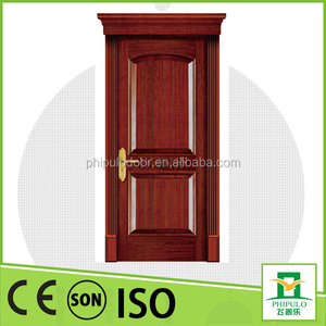 Wholesale good quality interior used solid wood door made in China