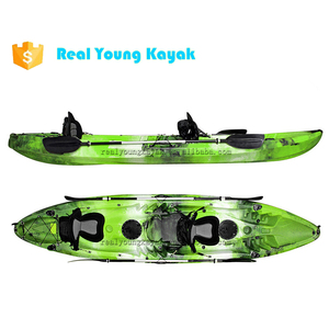 3 Person Kayak Sit On Top Carbon Paddle Fishing Boat Canoe Sale