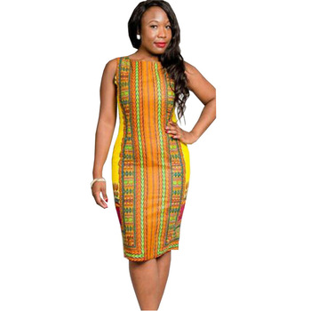 Plus Size Maxi Summer Ethnic African Traditional Printing Wholesale ...