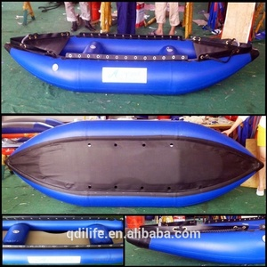 Seat Rowing PVC Durable Kayak Inflatable Canoe For Fish