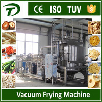 VF200 Automatic fruit and vegetable chips crisp vacuum frying machine