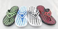 Man's Square Pattern Outdoor sandals, Manifacturer EVA outsole Flip flop,High Quality Best Man's Flip Flop