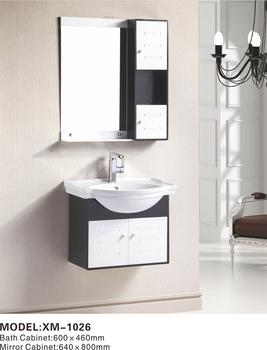 New Design Black Bathroom Wall Cabinet, Cupboard Bathroom Wash Basin  Cabinets, Shell Shape Basin