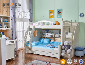 Modern Kid S Wood Bunk Bed Triple For Children Buy Triple Bunk Bed Modern Kid S Wood Bed Wood Bunk Bed For Kid Product On Alibaba Com