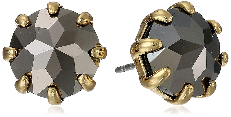 Rebecca Minkoff Button Stud Earrings