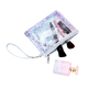 Custom women zipper transparent makeup case organizer storage pouch cosmetic bag pvc