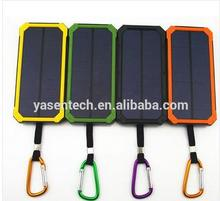 Portable power bank solar Dual USB Power Bank 20000mAh waterproof powerbank bateria external Portable Solar Panel