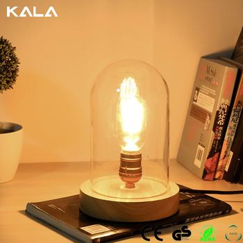 New Item Wood Diy Desk Lamp Table