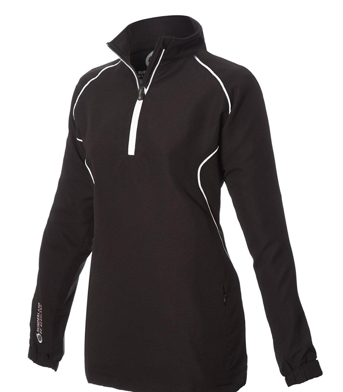 e4ce7984 Buy Sunderland of Scotland Sahara Long Sleeve Golf Shirt in White ...